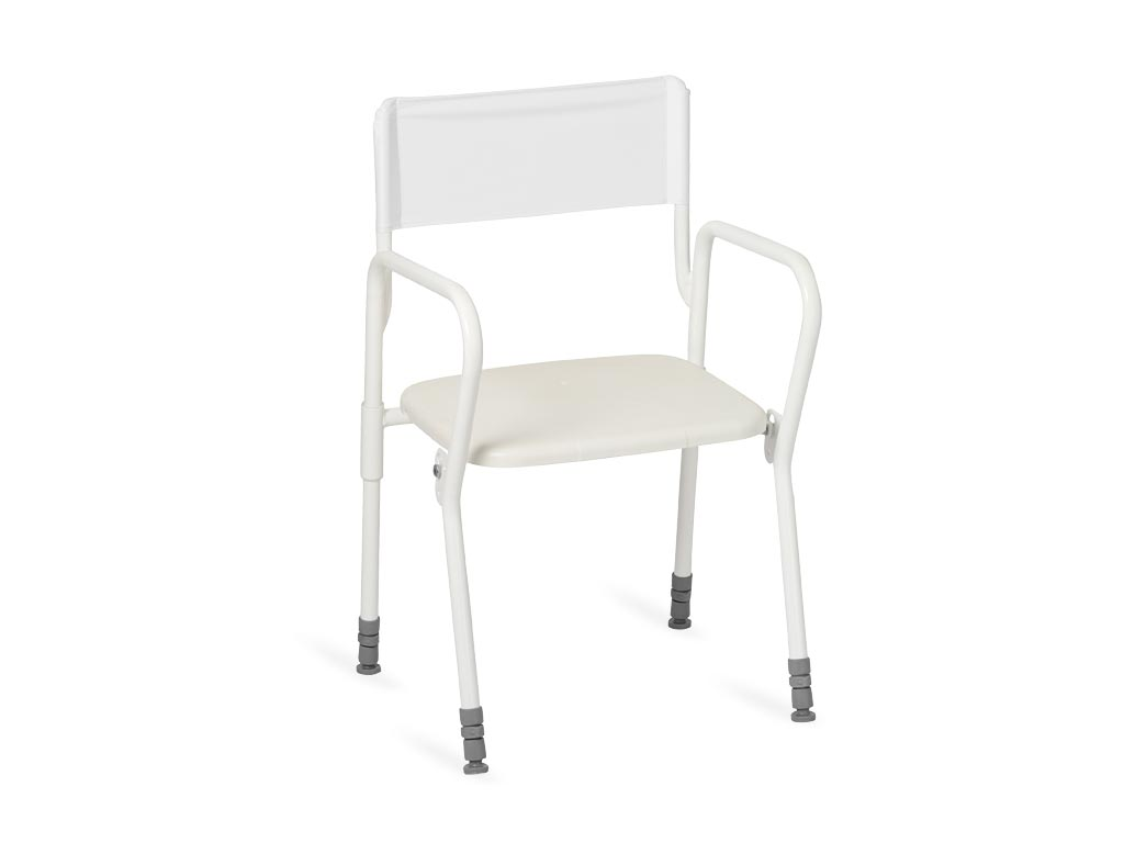 Sitz Stuhl F?r Dusche : 1118 Duschstuhl MOBIL Standard-Sitz Nordic DE